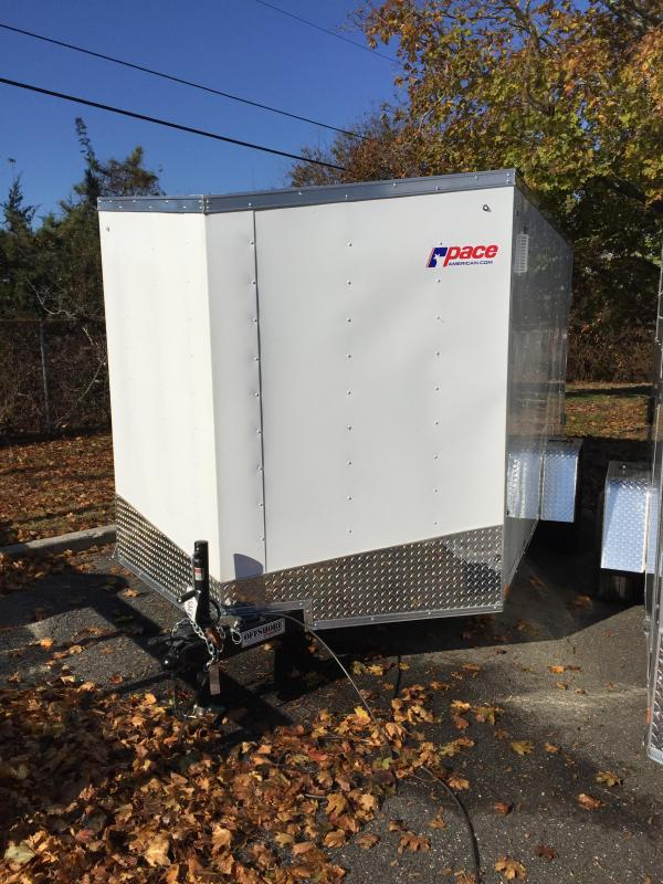 2018 Pace American ob612s12 Enclosed Cargo Trailer