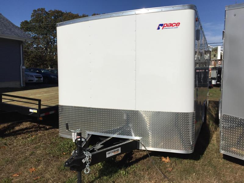 2018 Pace American Outback 8.5x18te2 Cargo Dlx Cargo / Enclosed Trailer
