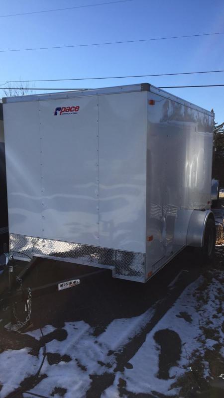 2018 Pace American ob6101 Enclosed Cargo Trailer