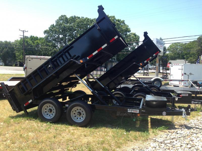 2020 Quality Steel and Aluminum 83x14 LP 14K Dump Trailer