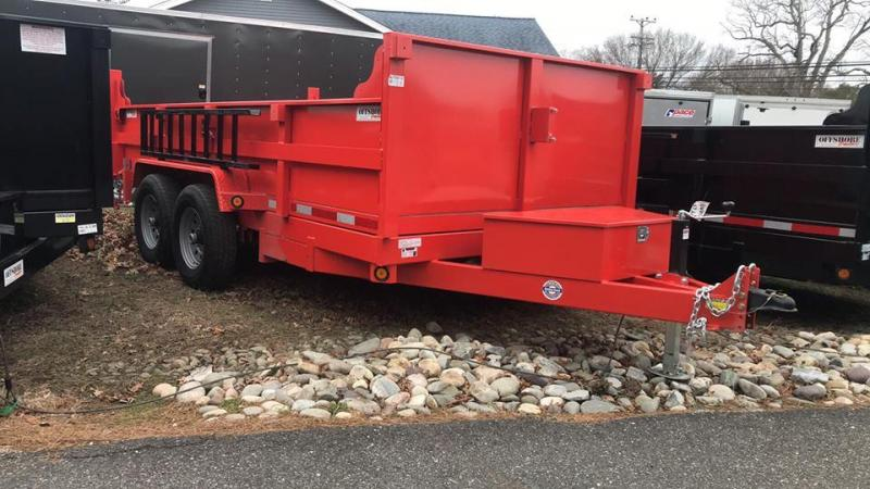 2019 Quality Steel and Aluminum 83x14 heavy duty Dump Trailer