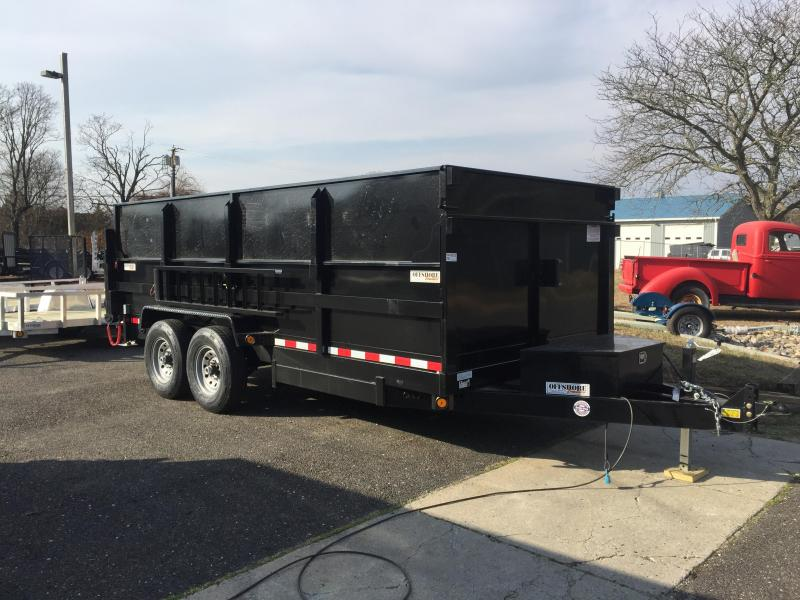 2018 Quality Steel and Aluminum 7x14lp high side Dump Trailer