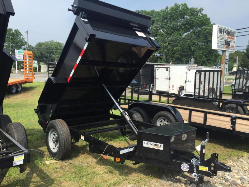 2020 Quality Steel and Aluminum 5x8 LP 6K Dump Trailer