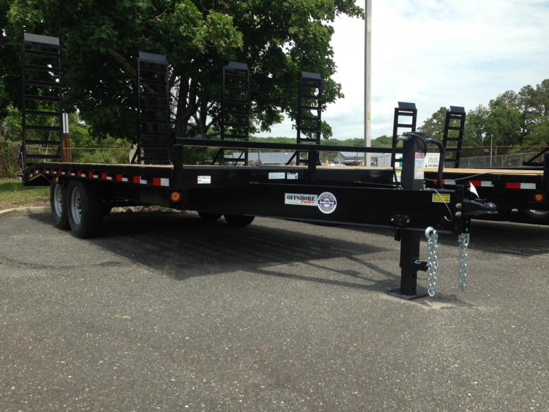 2019 Quality Steel and Aluminum 102X20+4 DECK OVER Equipment Trailer