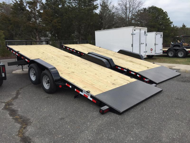 2018 Quality Steel and Aluminum 8320 14k Equipment Trailer
