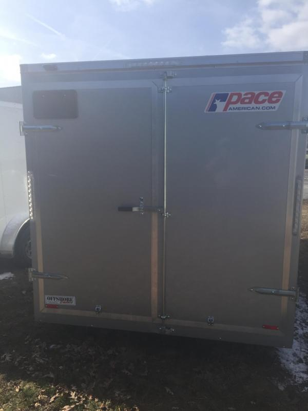 2018 Pace American OB7162 Enclosed Cargo Trailer