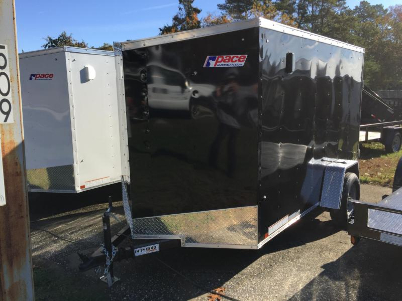 2018 Pace American ob6101 Enclosed Cargo Trailer