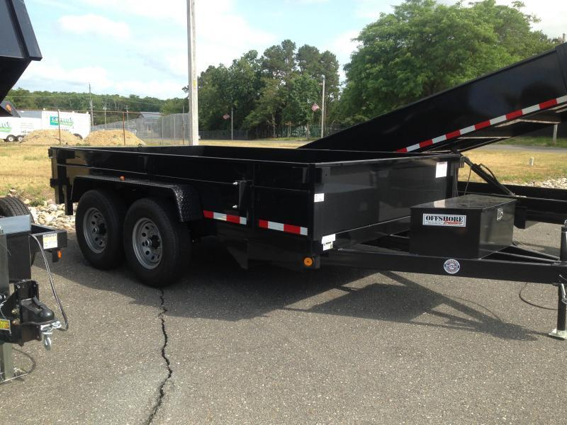 2018 Quality Steel and Aluminum 83x12 Econo 12K Dump Trailer