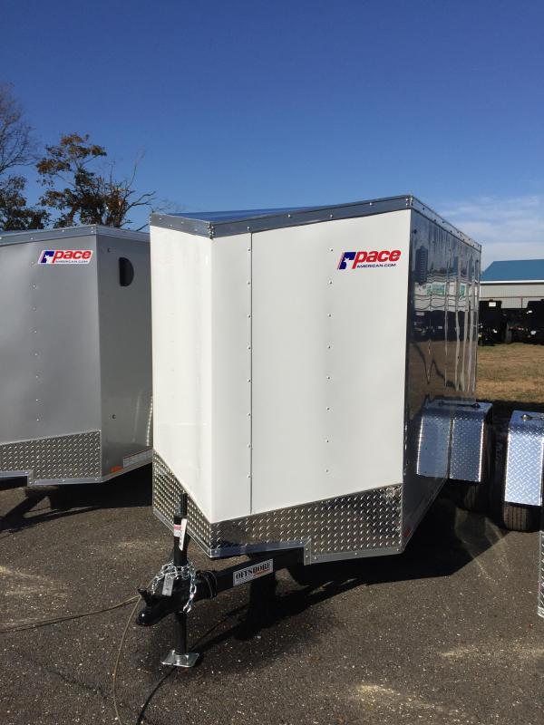 2018 Pace American ob5101 Enclosed Cargo Trailer
