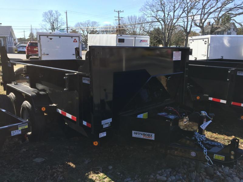 2018 Quality Steel and Aluminum 6X12 LOW PROFILE Dump Trailer