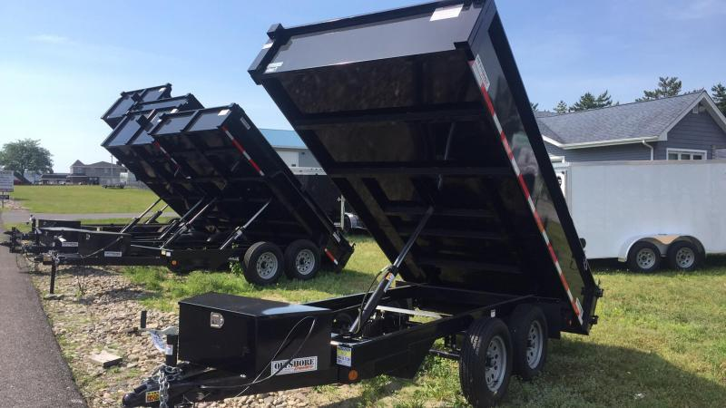 2019 Quality Steel and Aluminum 6x10 deck over Dump Trailer