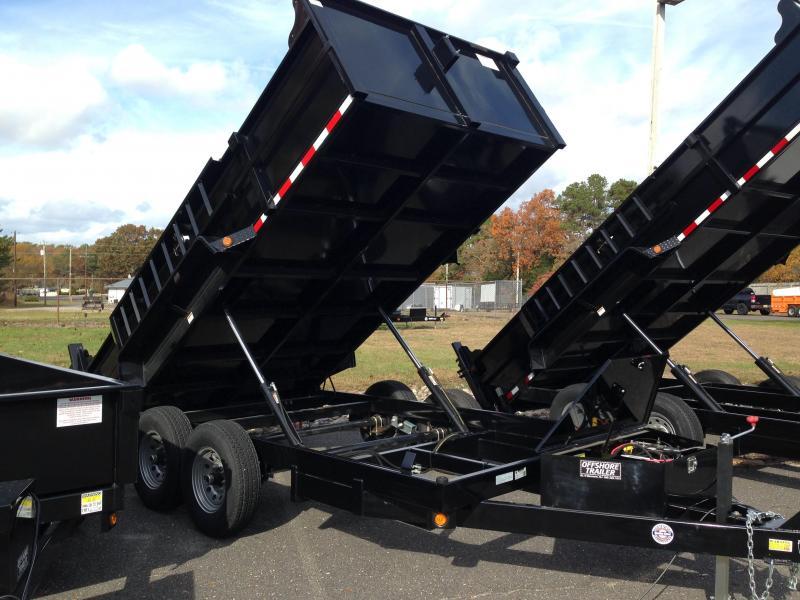 2018 Quality Steel and Aluminum 83x12 LP 12K Dump Trailer