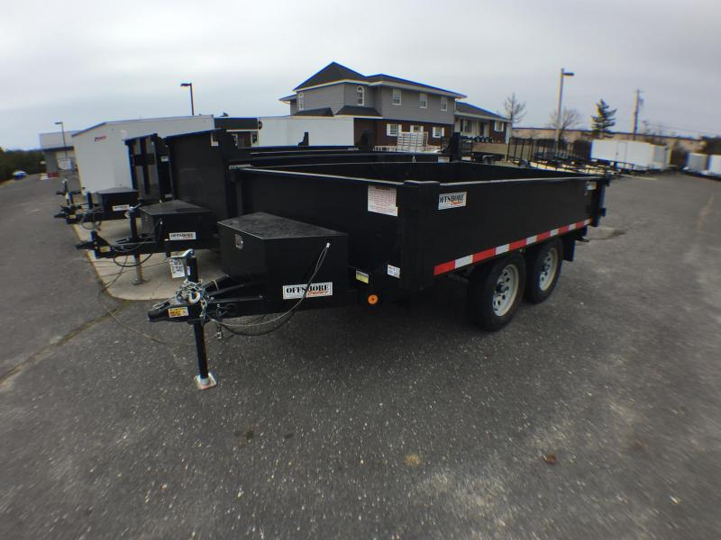 2019 Quality Steel and Aluminum 6X12 deckover Dump Trailer