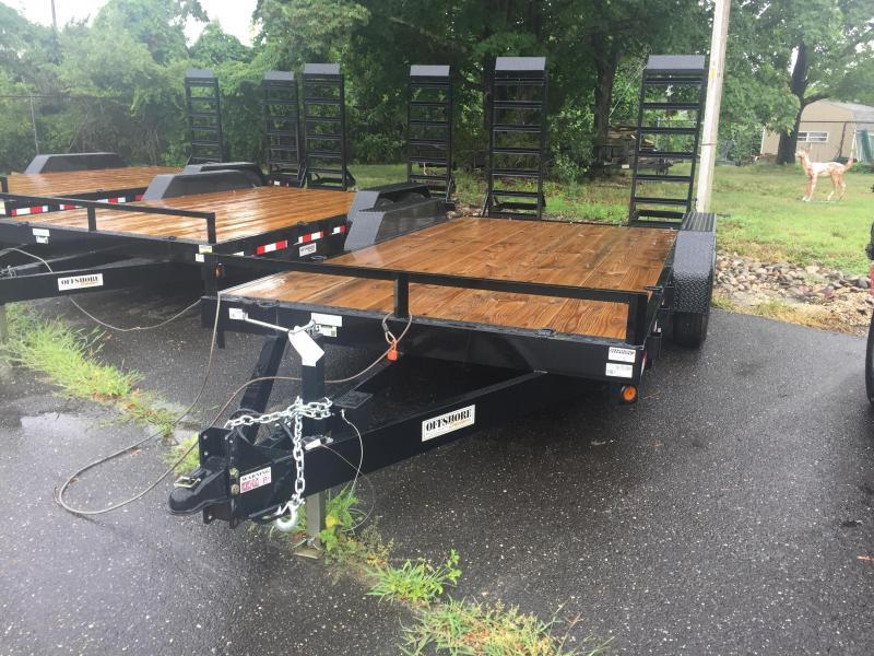 2019 Quality Trailers 18' low profile Equipment Trailer