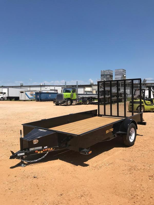 2019 Doolittle Trailer Mfg UT77X123K Utility Trailer
