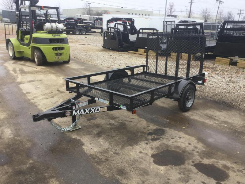 2017 Maxxd Trailers S1M6108 Flatbed Trailer
