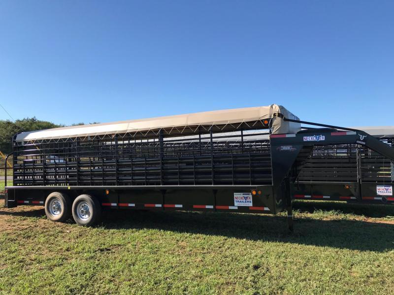 2019 Neckover Trailers GL24-2-7KS Livestock Trailer