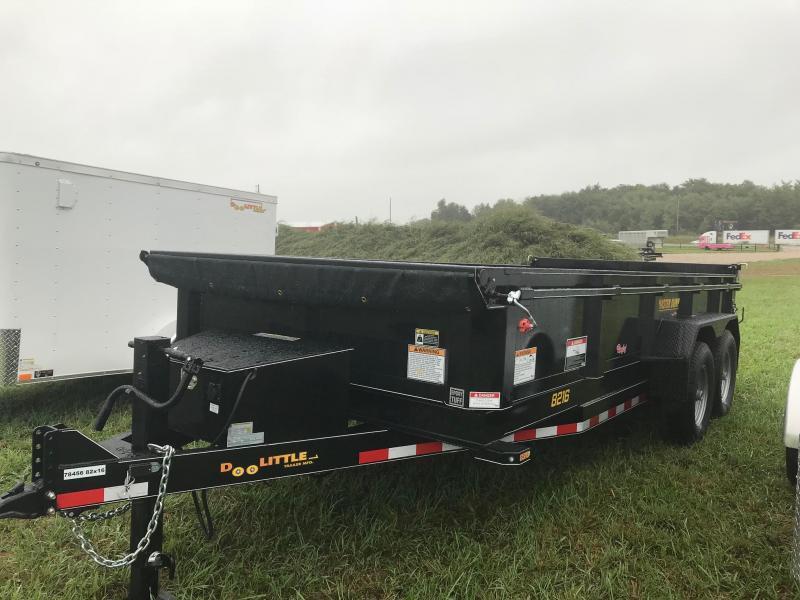 2019 Doolittle Trailer Mfg MD821614K Dump Trailer