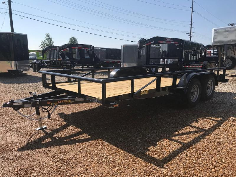2018 Doolittle Trailer Mfg UT84X167K Utility Trailer