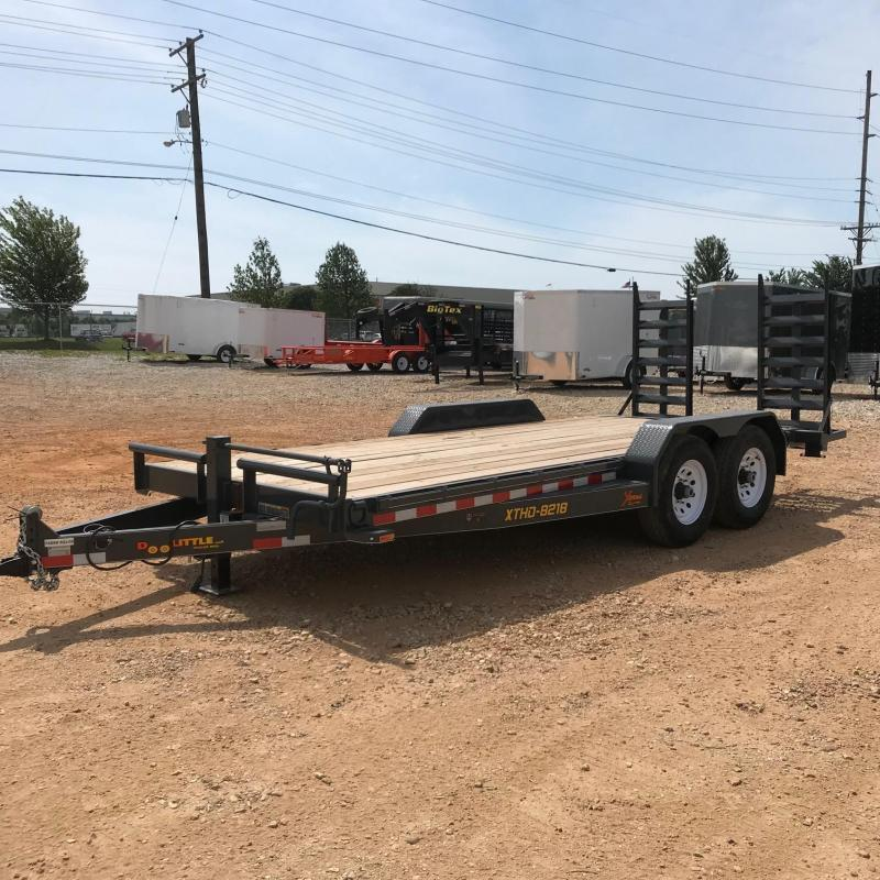 2018 Doolittle Trailer Mfg XT821814K Flatbed Trailer