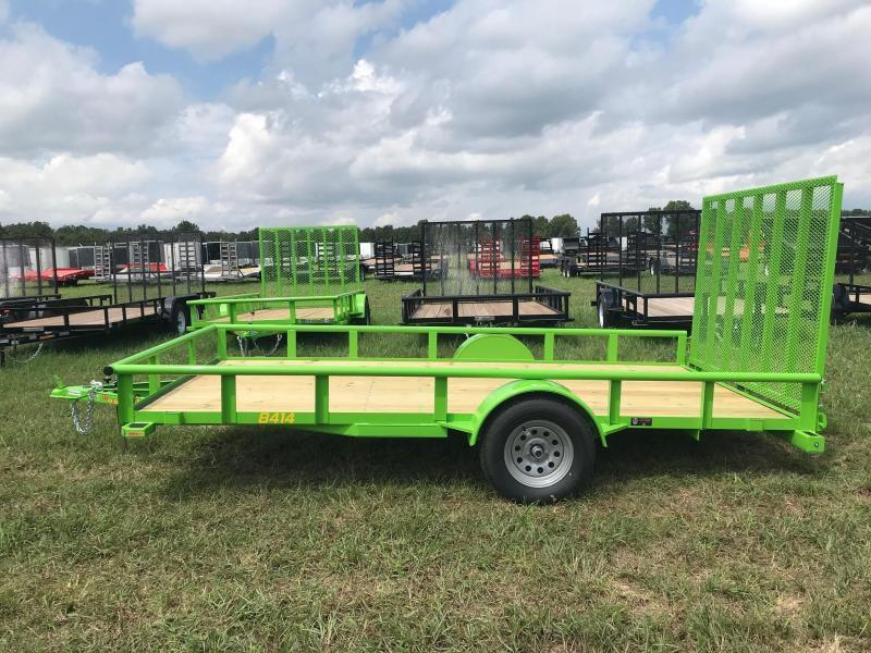 2019 Doolittle Trailer Mfg UT84X14K Utility Trailer