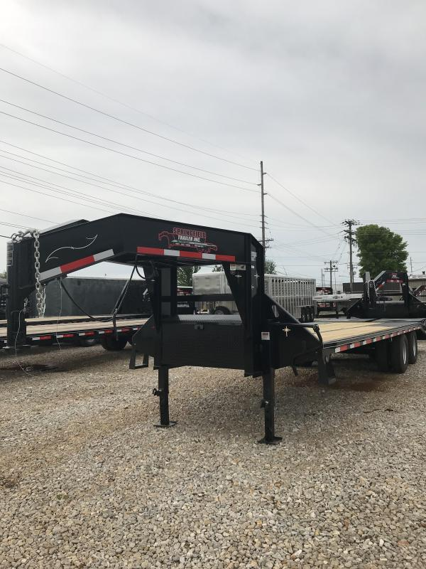 2019 Starlite Trailers 28TDGN-LP Equipment Trailer