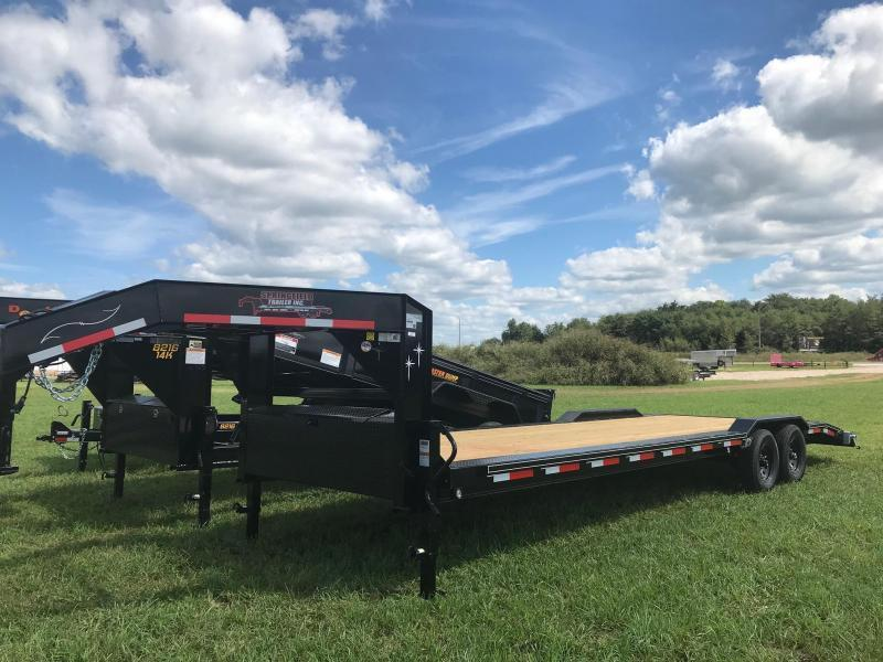 2018 Starlite Trailers 102-28101GNDV-DOF Equipment Trailer