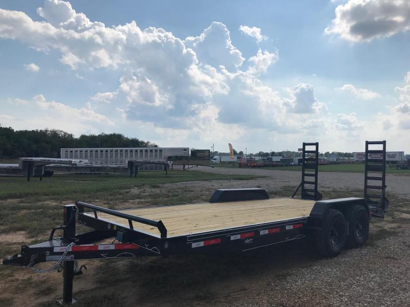 2019 Starlite Trailers 82-206CRDV Equipment Trailer