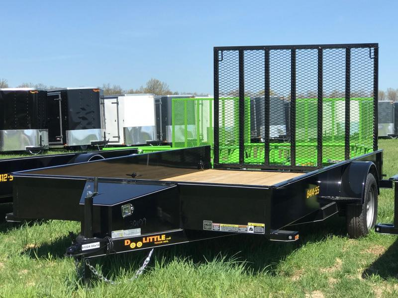 2019 Doolittle Trailer Mfg UT84X143K Utility Trailer