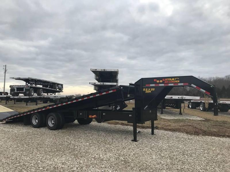 2019 Doolittle Trailer Mfg BF1022822K Equipment Trailer