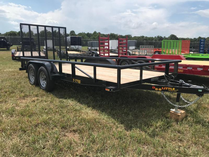 2019 Doolittle Trailer Mfg UT77X167K Utility Trailer
