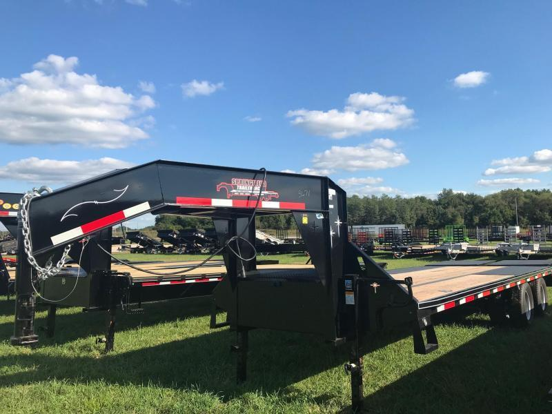 2019 Starlite Trailers 25TDGN-LP Equipment Trailer