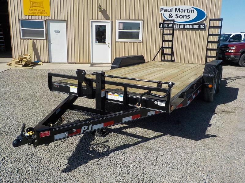 "2019 PJ Trailers 18' x 6"" Channel Equipment Trailer"