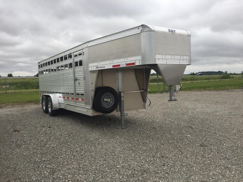 2020 EBY Freedom Plus Livestock Trailer