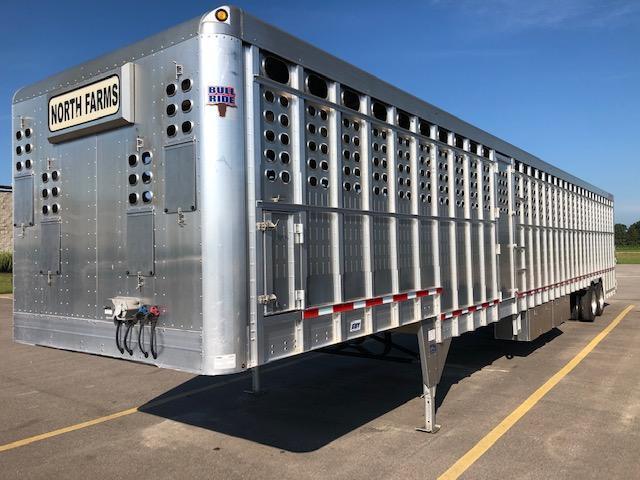"2016 EBY 53'x102""x10'3"" Bull Ride Livestock Trailer"