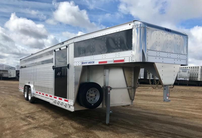 2020 Final Drive EBY Ruff Neck 26' x 8' Livestock Trailer
