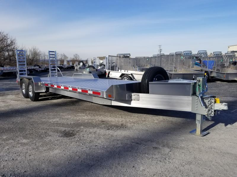 EBY 24'6 14K LOW PROFILE EQUIPMENT TRAILER - TRADESMAN PACKAGE