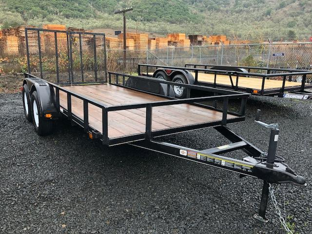 2018 Diamond C Trailers RU16x83 Flatbed Trailer