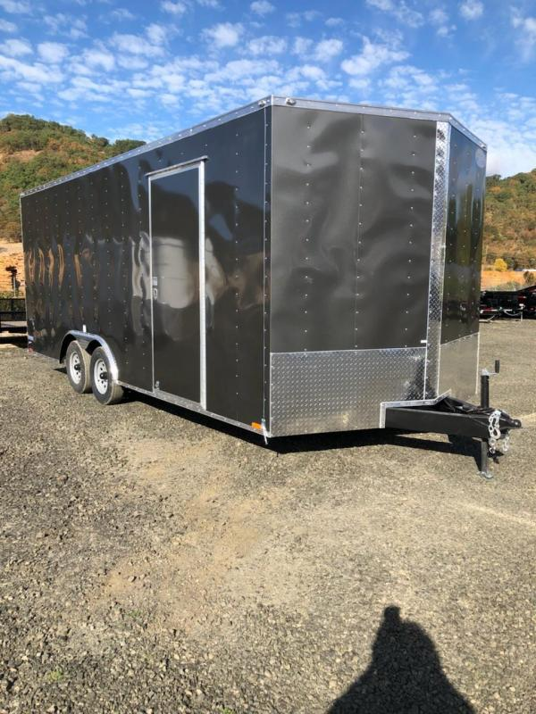 2019 Continental Cargo Car hauler VHW8520TA2  8.5 X 20 Enclosed Cargo Trailer
