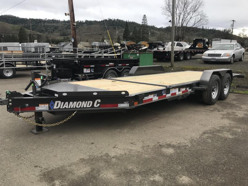 2019 DIAMOND C HDT207 82X20 SPLIT TILT EQUIPMENT TRAILER K1212174
