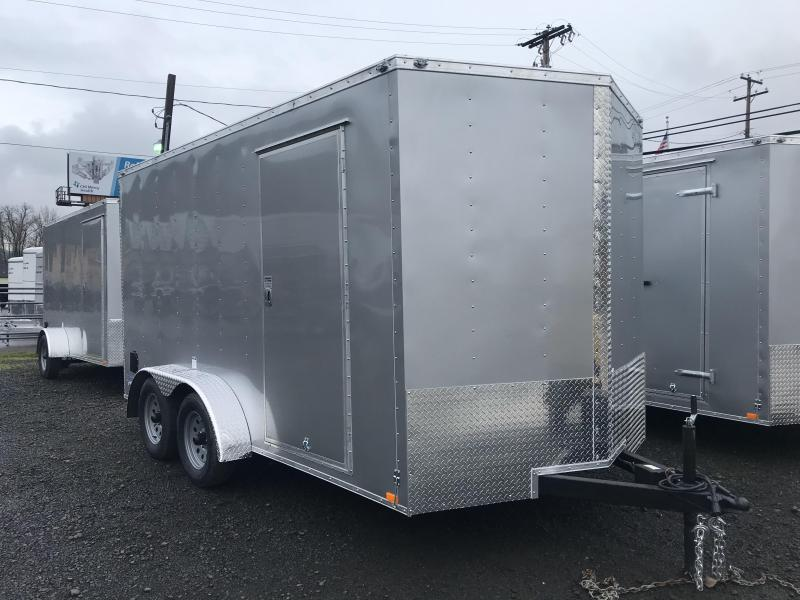 2019 Continental Cargo VHW714TA2 7x14 Enclosed Trailer