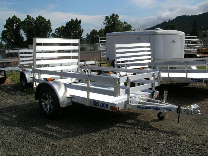2014 Mission 5x8 Utility Trailer EB003249