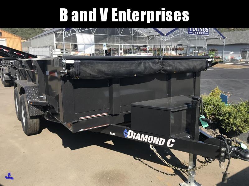 "2019 DIAMOND C EDM252 12'X82"" SCISSOR HOIST 10K DUMP #K1217553"