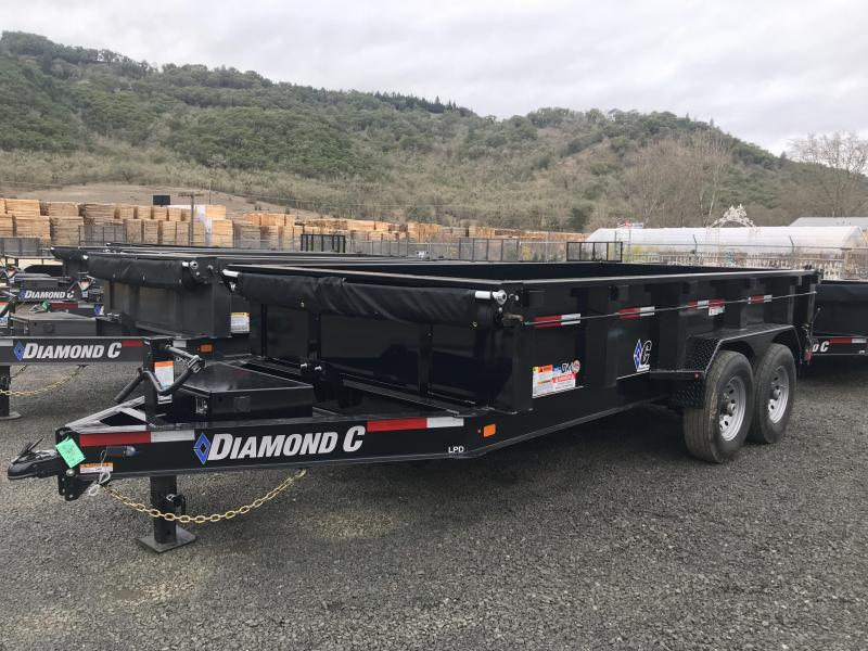2019 Diamond C Trailers LPD207 82X14 LOW PROFILE Dump Trailer K1211209