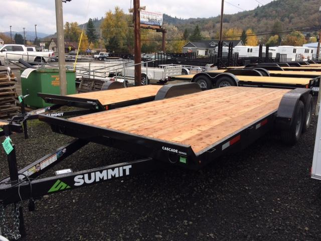 2018 Summit 7x18 Flatbed Trailer J1002142