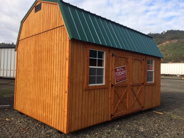 Old Hickory Shed 10x16 Side Lofted Barn T2787