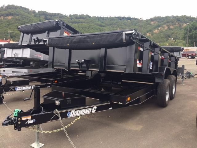 "2017 Diamond C 82""x14 HD Dump Trailer H1189983"