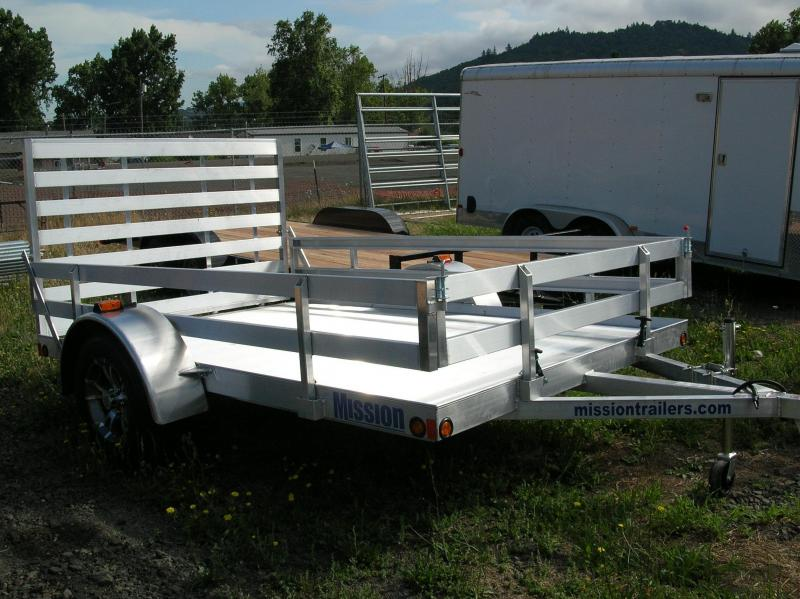 2014 Mission 6.5x10 Utility Trailer EB003247