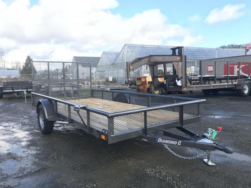 2019 Diamond C Trailers PSA 77X14 3K Utility Trailer K1210885 2019 Diamond C Trailers K1210950