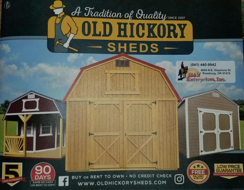 2019 Old Hickory WSLPHX SIDE LOFTED PORCH PLAYHOUSE PACKAGE